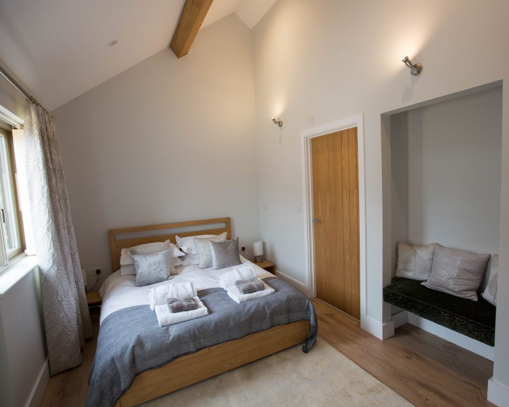 The Granary Accommodation Bedroom