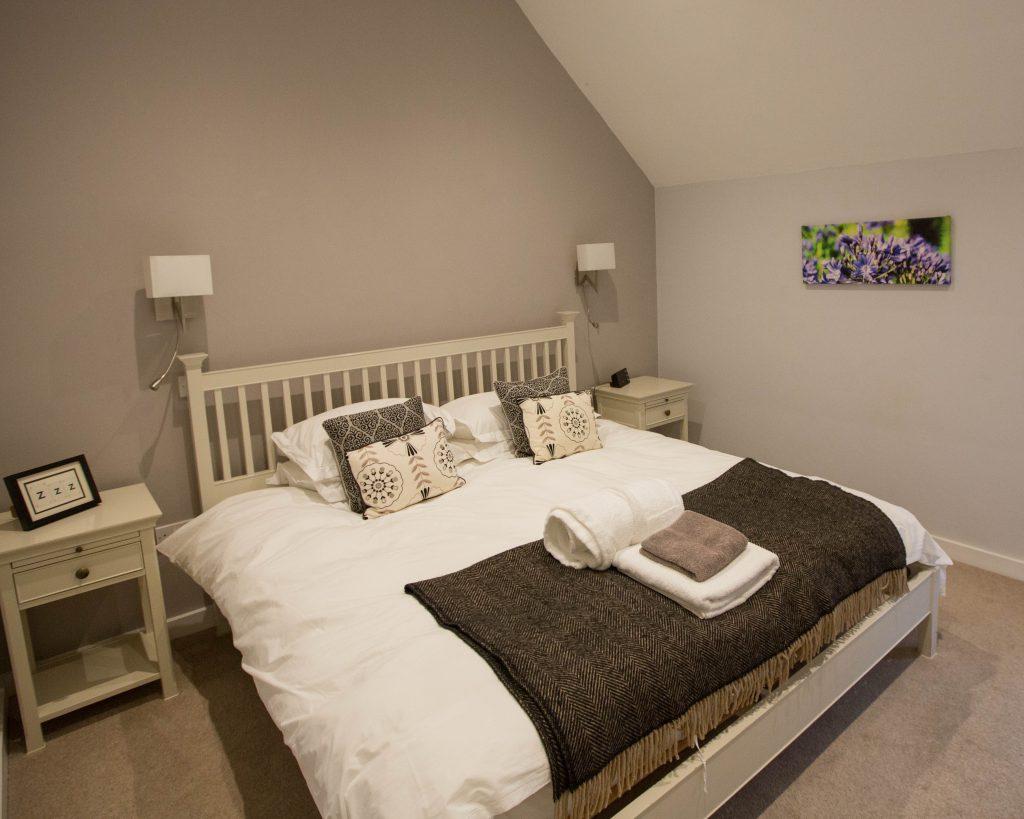 The Hayloft Accommodation Bedroom