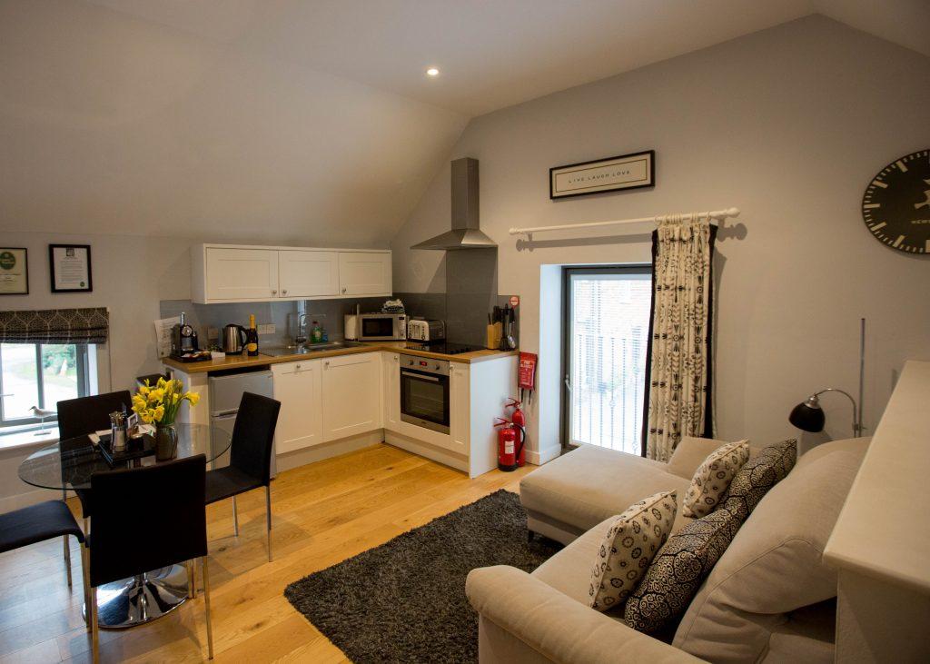 The Hayloft Accommodation Lounge