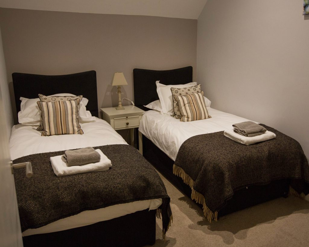 The Hayloft Accommodation Twin Bedroom