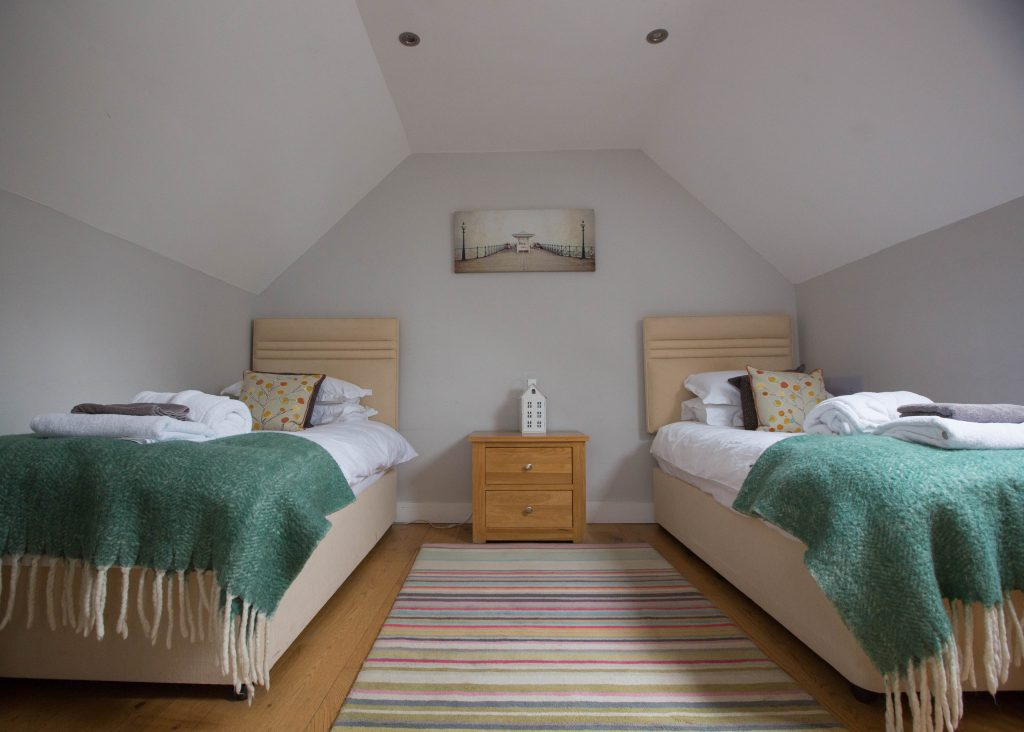 The Old Dairy Accommodation Twin Bedroom