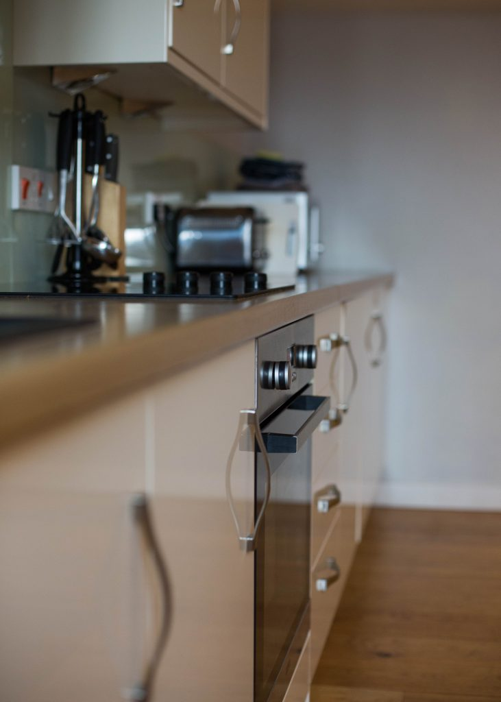 The Stables Accommodation Kitchen